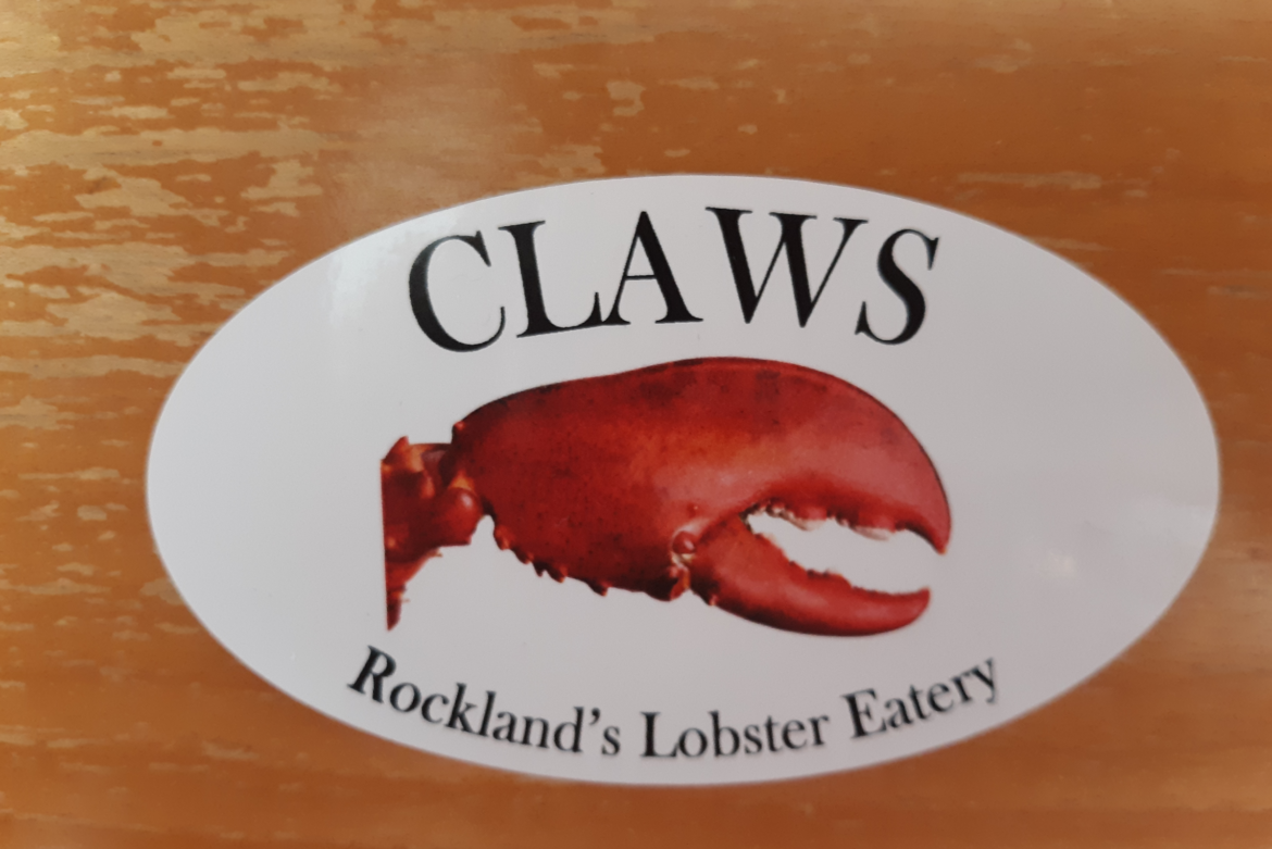Claws Bumper Sticker (Oval)